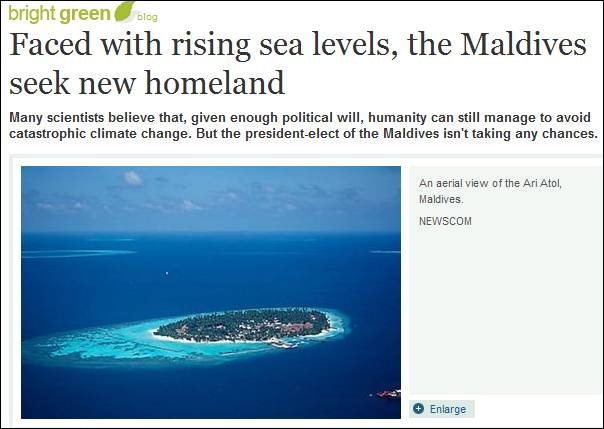 maldives rising sea level The maldives are one of the lowest lying nations and therefore are very vulnerable to sea level rise as a result of climate change the nation has certainly discussed strategies to combat the coming changes however they lack capability of executing certain procedures because they do not have the financial resources or the technological.